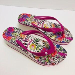 Desigual Flip Flop Sandals Size 40